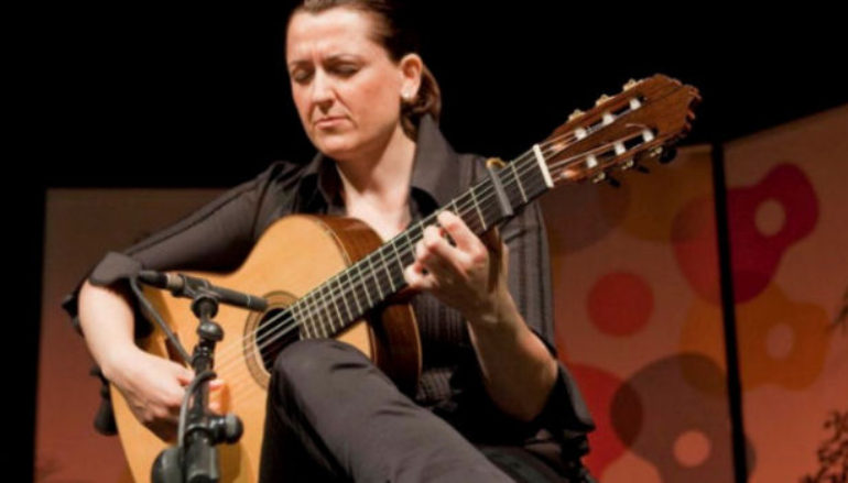 Interview with guitarist Celia Morales in Ronda