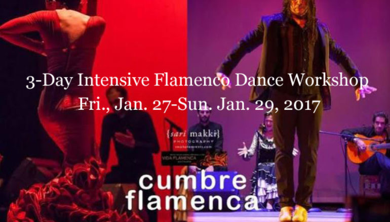 2017 Flamenco Dance Workshops with the Ortegas