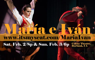 María Juncal e Iván Vargas Heredia Shows Feb. 2 & 3 in Burbank + Masterclasses!