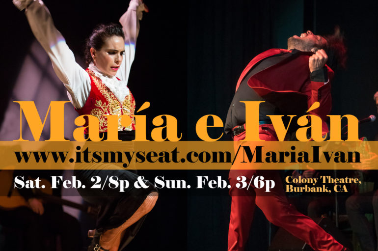 María Juncal e Iván Vargas Heredia Feb. 2 & 3, 2019 in Burbank, California!