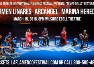 "THURS., MARCH 15 @8PM""Tempo de Luz"": Andalusian Voices in Los Angeles"