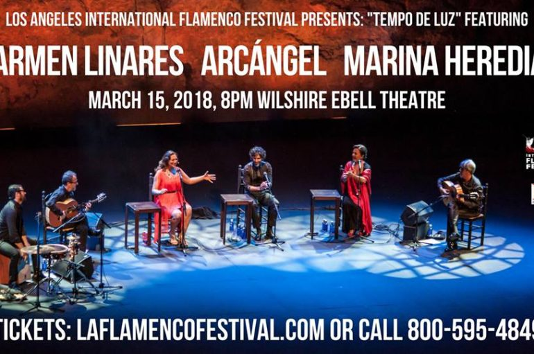 "THURS., MARCH 15 @8PM""Tempo de Luz"": Andalusian Voices in Los Angeles"