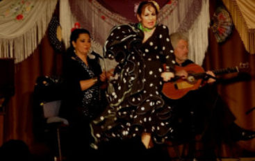 Inesita and her Flamenco Ensemble in Alhambra, CA