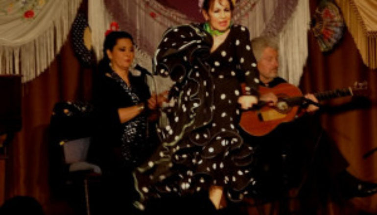 Inesita and her Flamenco Ensemble in Alhambra, CA