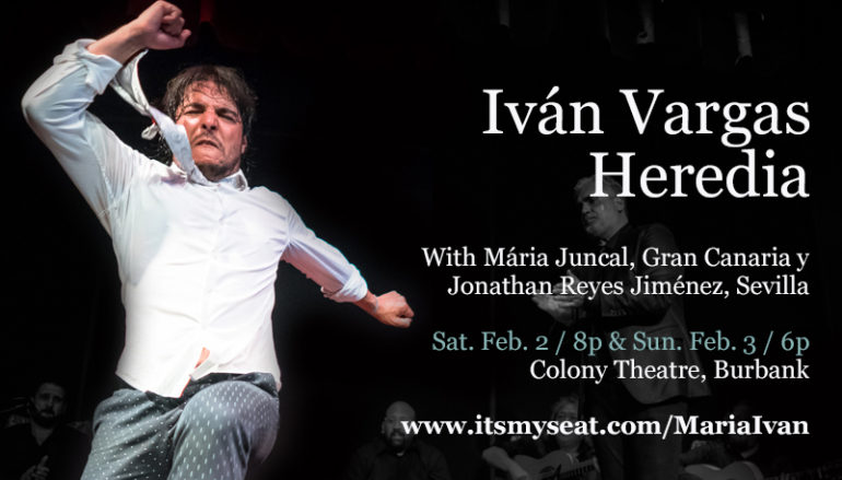 Masterclass with Iván Vargas at Studio K'tan in North Hollywood