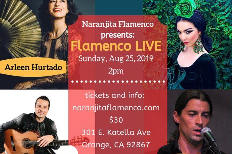 Flamenco LIVE @ Naranjita Flamenco * Aug. 25