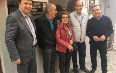 Reconocimiento oficial de la carrera artística de Tomatito y Flamencólogos en la Casa de la Guitarra en Sevilla