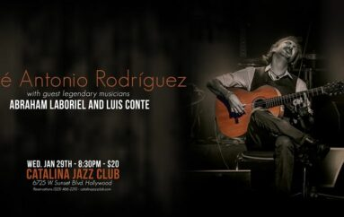 Jose Antonio Rodriguez performs at Catalina's Jazz Club in Hollywood 1.29