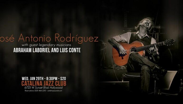 Jose Antonio Rodriguez performs at Catalina's Jazz Club in Hollywood 1.29