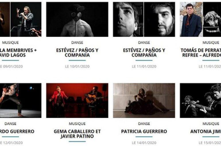 2020 Festival Flamenco Théâtre de Nîmes