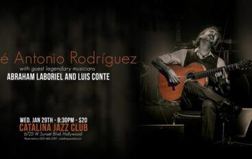 José Antonio Rodríguez  at Catalina's Jazz Club in Hollywood