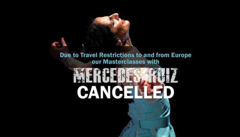 ** CANCELLED** MERCEDES RUIZ MASTERCLASSES * Naranjita, Orange, CA