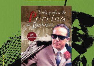 """Círculo Flamenco de Madrid: el libro """"Vida y obra de Porrina de Badajoz"""" (2ª edición) de Paco Zambrano"""