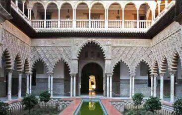 Real Alcázar palace in Seville