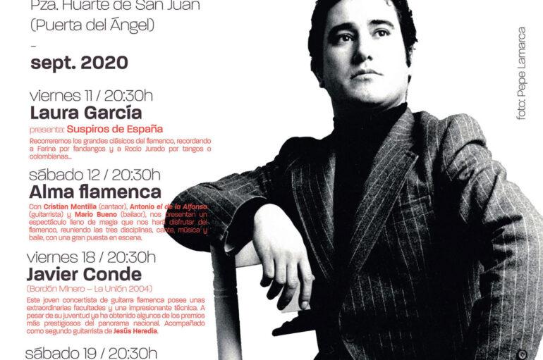 Flamenco en el Templete José Menese
