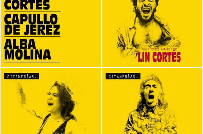 Gitanerías: Lin Cortés, Capullo de Jerez, Alba Molina