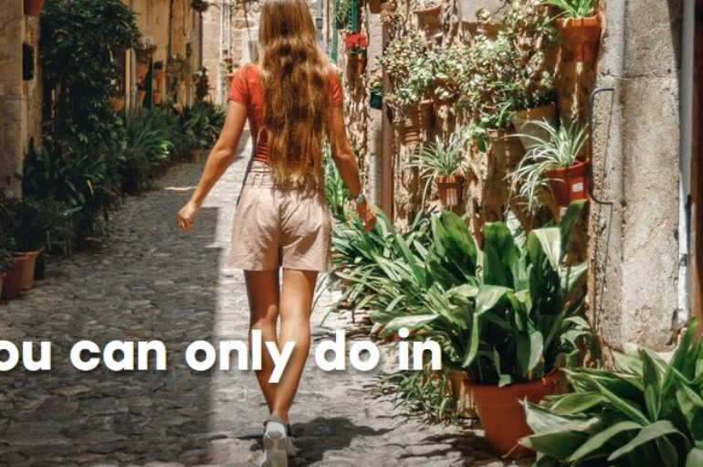 Things you can only do in Spain!
