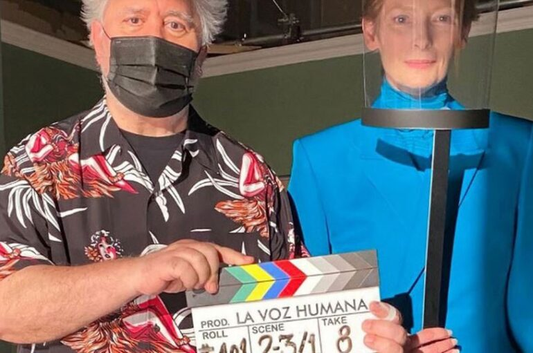 Pedro Almodóvar shares preview of new short starring Tilda Swinton