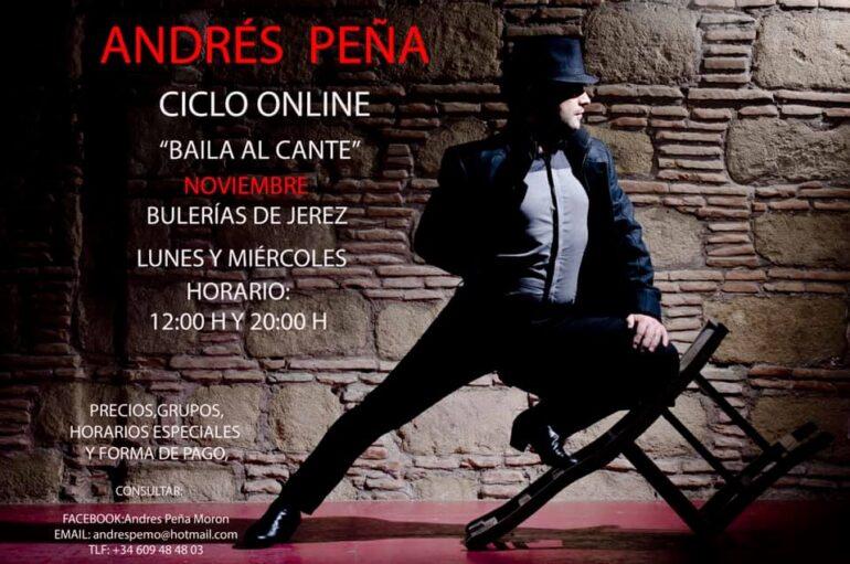 Andres Peña Morón Online Flamenco Dance