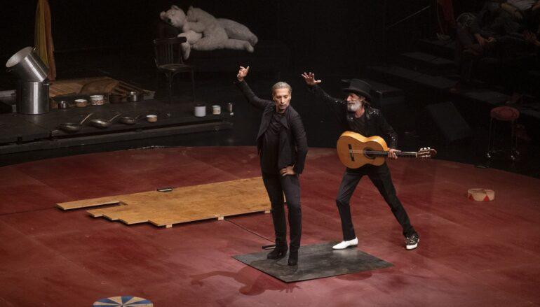 Israel Galván lleva su baile al circo