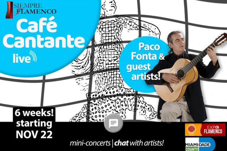 Cafe Cantante/Live