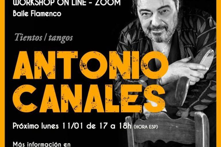 Antonio Canales Online Workshop – Zoom