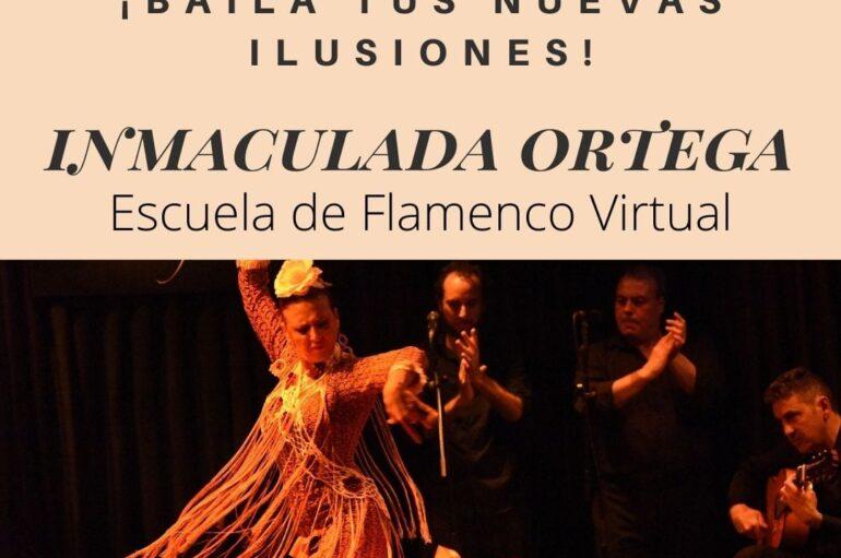 Inmaculada Ortega Escuela de Flamenco Virtual