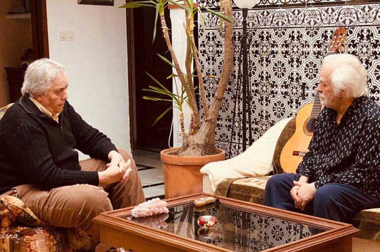 """Manuel Bohórquez dedica su segunda carta de """"El loco del flamenco"""" a Manolo Sanlúcar"""