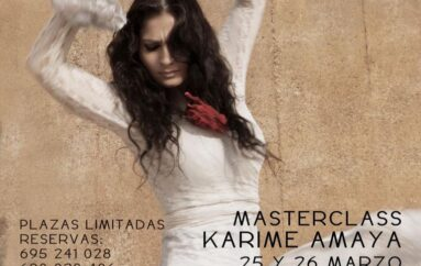 Karime Amaya Masterclass en Amor de Dios, Madrid