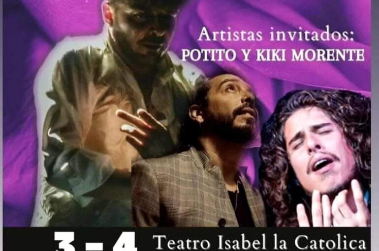 NAZARENOS con Juan Andrés Maya, y Isa Vega; Artistas invitados: Potito y Kiki Morente