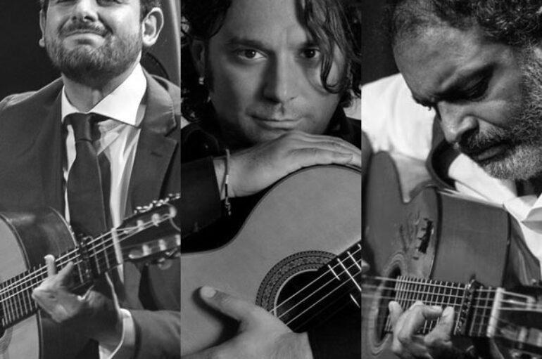 Café Berlín, Madrid * D. DEL MORAO, J. CARMONA y PAKETE * Guitarristas