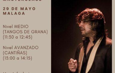 Iván Vargas Masterclass en Málaga * 29 de Mayo