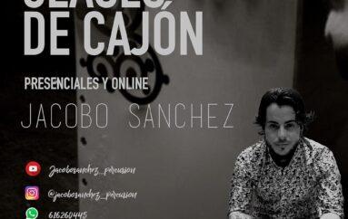 Online y presenciales * CLASES DE CAJÓN con Jacobo Sánchez