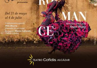 """La bailaora María Juncal trae """"La Vida es un Romance"""" al Teatro Cofidis Alcázar de Madrid durante 7 semanas"""