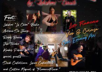 Flamenco Al Fresco in Hollywood!