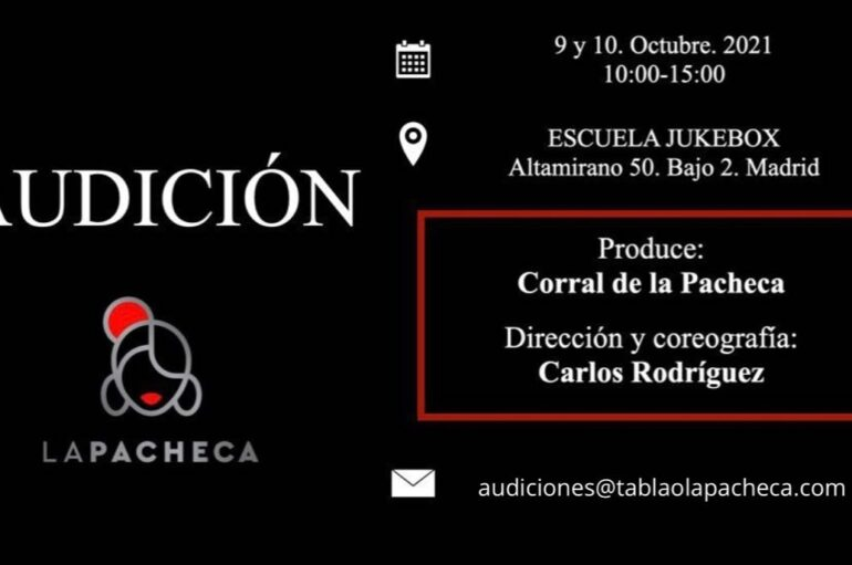 Audición en Madrid por Carlos Rodríguez