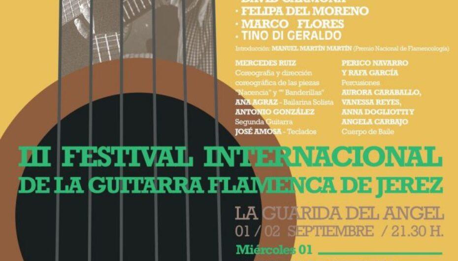 El III Festival de Guitarra de Jerez homenajea a Manolo Sanlúcar