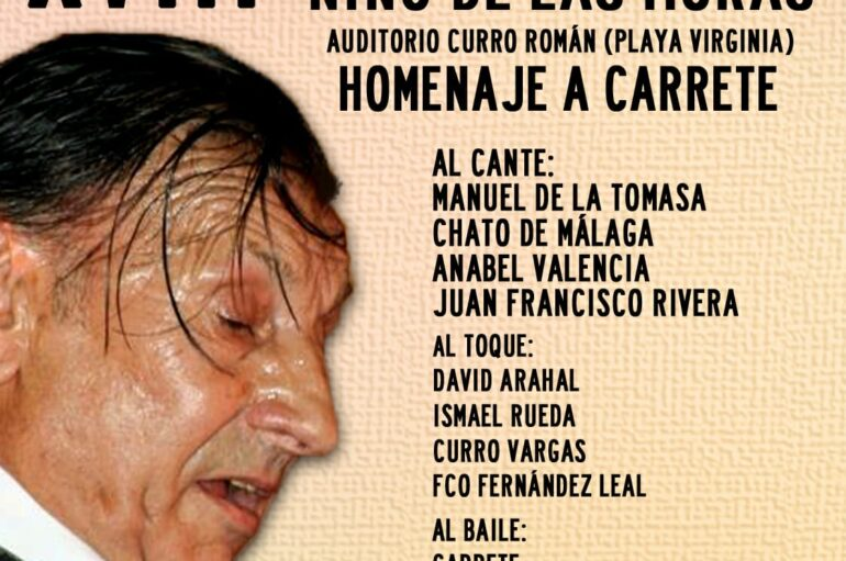 XVIII Festival Flamenco Niño de las Moras en Málaga